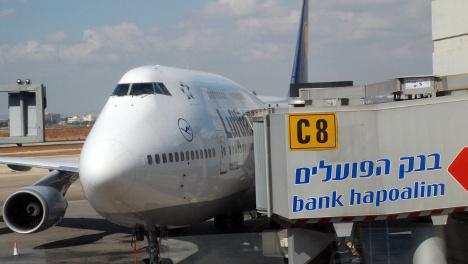 Lufthansa cancels Tel Aviv flights