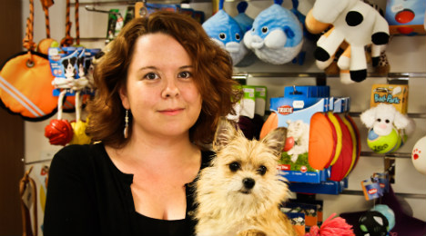Hope springs eternal for expat pet shop owner