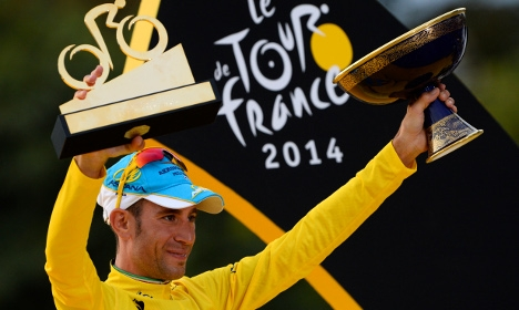 Italian cycling champ boosts Kazakhstan