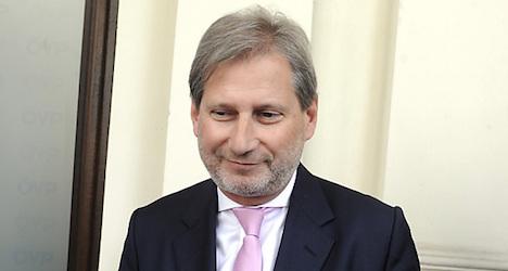 Hahn nominated as EU Commissioner