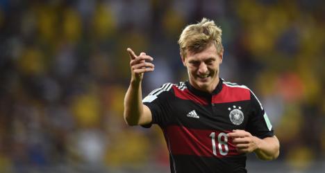 German World Cup hero Kroos joins Real Madrid