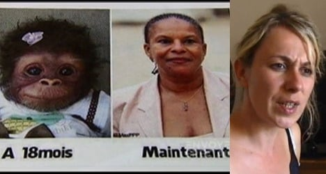 Ex-FN candidate handed jail term for monkey slur