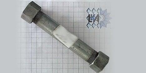 Apprentice built pipe bomb