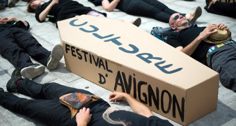 Avignon Festival to open despite strike threat
