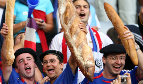 What do Germans think of the French?