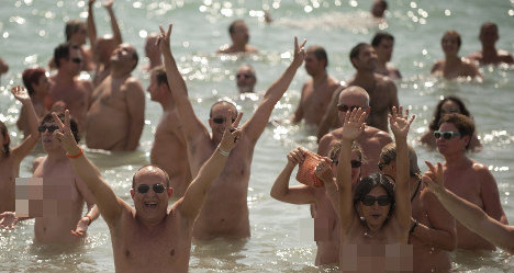 Spanish naturist paradise bans nudity by mistake