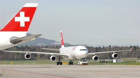 Swiss airlines steers clear of Ukraine airspace
