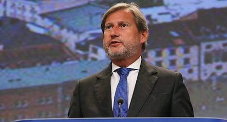 Hahn again proposed as EU commissioner