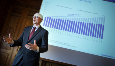 Swedish banking giants report mixed fortunes