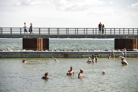IN PICTURES: Denmark's first sea pool opens