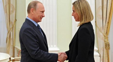Putin asks Italy to help fix Russian-EU relations