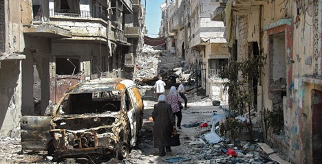 Six Austrians killed in Syrian civil war