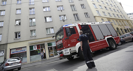 Man and dog dead in Vienna fire