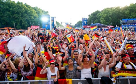 Berlin chosen to host World Cup victory parade