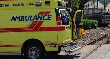 Valais electric train kills cyclist at crossing