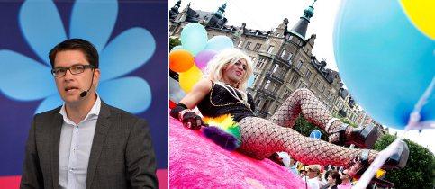 Stockholm Pride bars Sweden Democrats