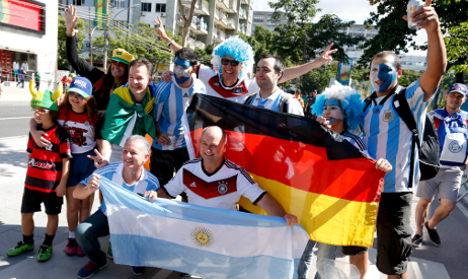 Brazilians back Germany against Argentina