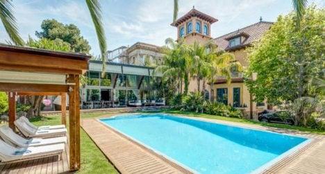 Tycoon turned drug lord sells €30m mansion