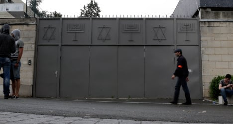 French minister blasts acts of anti-Semitism