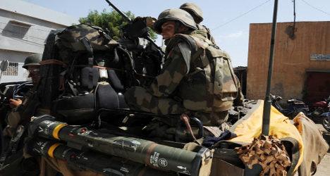 French legionnaire killed in Mali suicide attack