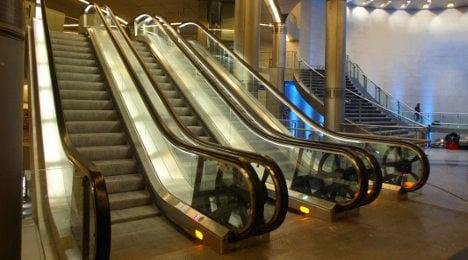Oops! New Paris Metro escalators 'were too wide'