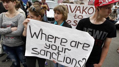 EU prepares to hit Russia with tough sanctions
