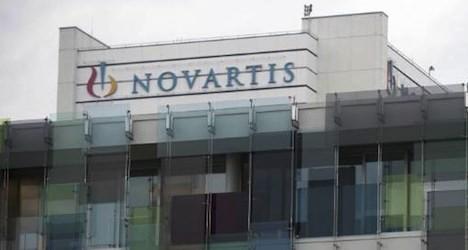 Novartis reports sharply higher half-year profits