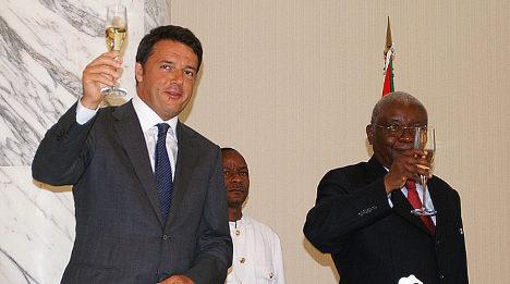 Italy hunts energy deals in post-war Mozambique