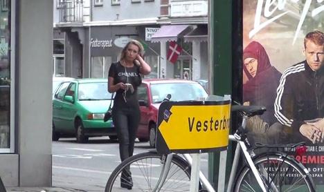 VIDEO: Danish bodypaint stunt heats up the net
