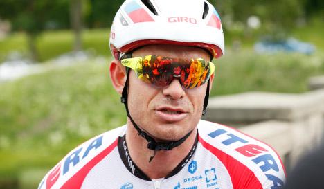 Norway's Tour de France hopeful in bike bungle