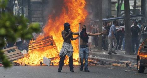 Paris police ban pro-Palestinian demo