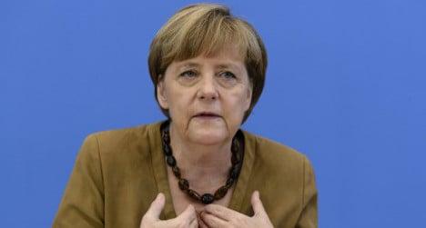 Merkel snubs Catalonia's independence plans