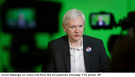 Stockholm court upholds Assange arrest order