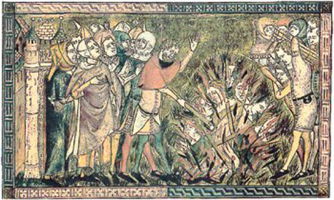 How German lands responded to the Black Death