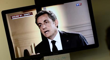 Sarkozy decries 'political' motives behind charges