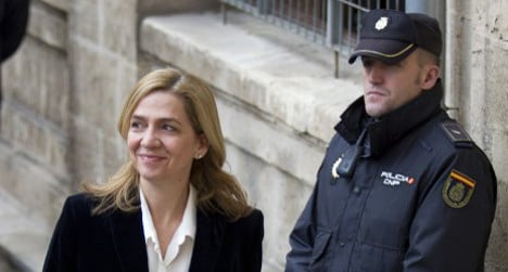 Spanish king's sister appeals fraud charges