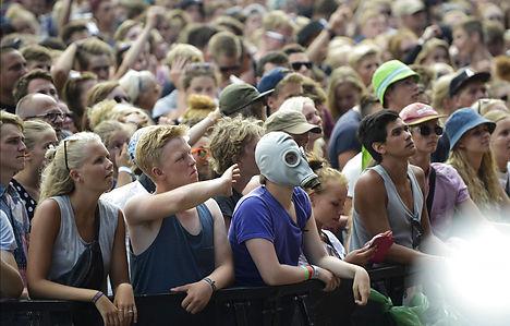 Roskilde Festival sets attendance record