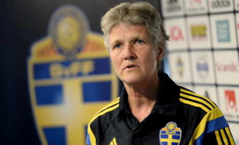 Gender roles 'entrenched' in Swedish football