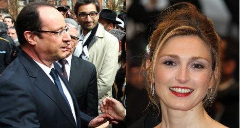 Hollande denies rumours he will marry actress