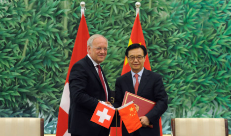 Swiss get the edge on EU with China trade deal
