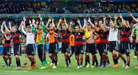 Germany thrash Brazil in World Cup semi-final