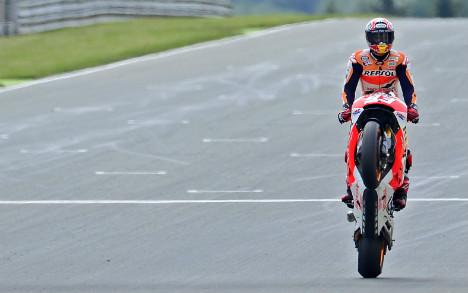 Magnificent Marquez on cloud nine after bike win