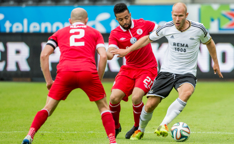 Rosenborg suffer shock Europa League loss