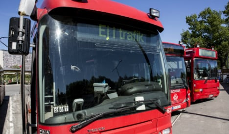 Swedes suffer as buses boil in the summer sun