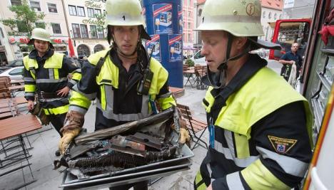 Explosion at Munich surgery injures three