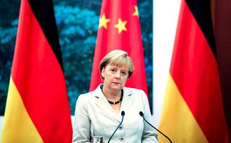 China to receive Merkel with military honours