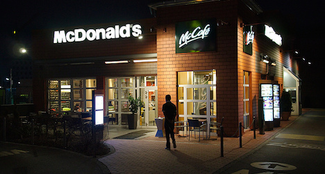 Armed robbery at Klagenfurt McDonald's