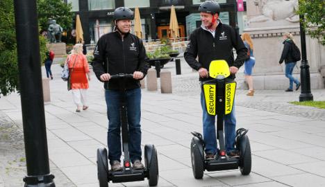 Norway lifts Segway ban