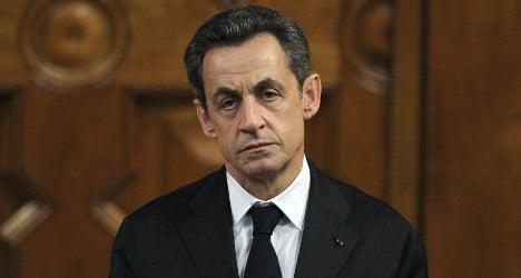 No new criminal probe against Sarkozy