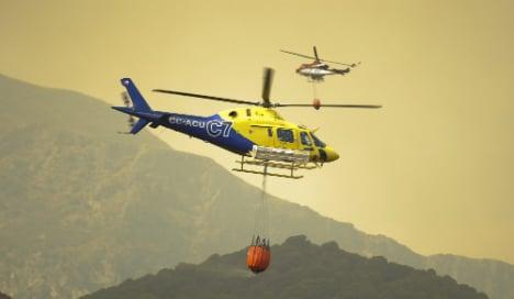 Wildfires ravage Spain villages